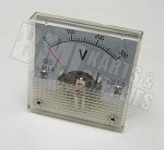 Analog Volt Panel Meter Gauge AC 0~300V