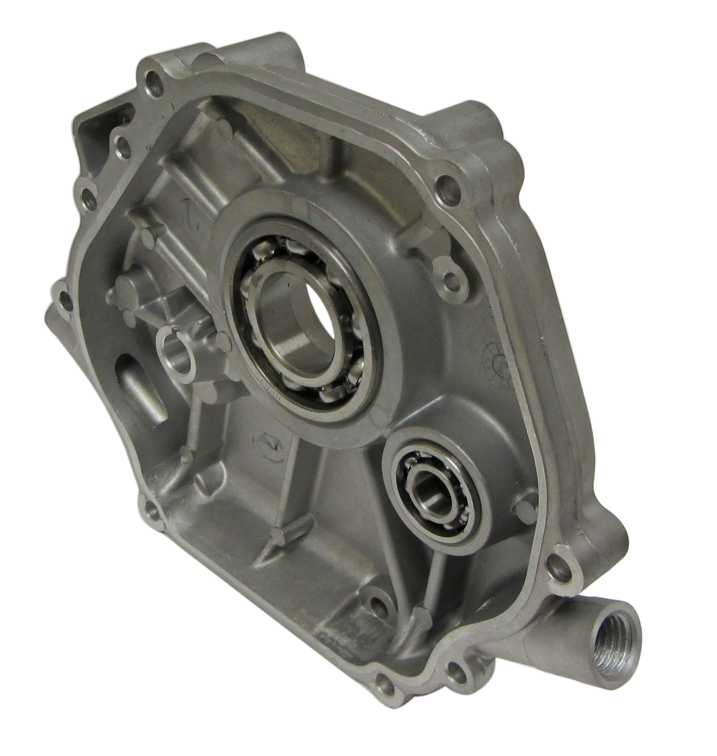 engine crankcase location transmission location
