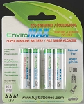Fuji Batteries AAA Alkaline Battery (4)
