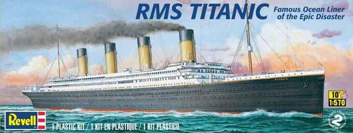 Titanic Ocean Liner Scale From Revell Models - Model cruise ship kits