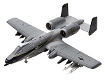 A10 Thunderbolt (1/100 Scale) Airplane from Revell Models #851371