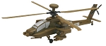 AH-64 D Apache (1/100 Scale) Helicopter from Revell Models #851373