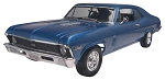 '69 Chevy Nova SS (1/25 Scale) Car from Revell Models #852098