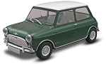 Original Mini Cooper (1/24 Scale) Car from Revell Models #854035