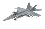 F/A-18E Super Hornet (1/48 Scale) Airplane from Revell Models #855850