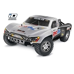 Traxxas 1/10 Slash 4X4 RTR TQI with iD (Silver/Black #7)