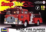 --No Longer Available--Mack Fire Truck (1/32 Scale) SnapTite Fire Pumper from Revell Models #851945