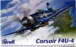 Corsair F4U-4 (1/48 Scale) WWII Airplane from Revell Models #855248