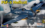 F6F-5 Hellcat (1/48 Scale) WWII Airplane from Revell Models #855262