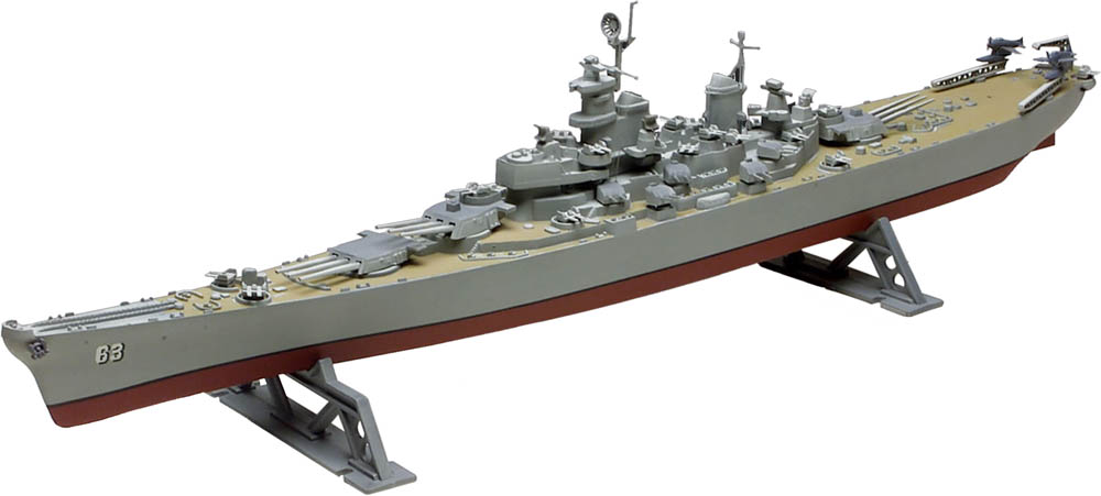 Uss Missouri Model Uss Missouri Battleship 1/535