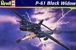 P-61 Black Widow (1/48 Scale) Airplane from Revell Models #857546