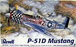 P-51D Mustang (1/48 Scale) WWII Airplane from Revell Models #855241