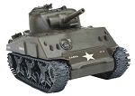 M4A3 Army Tank (1/35 Scale) Snap Model from Testors #650022T