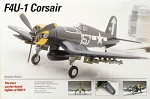 --No Longer Available-- WWII F4U-1 Corsair (1/72 Scale) Model Airplane from Testors #623T