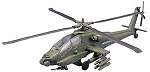 Apache Helicopter (1/32 Scale) Snap Model from Testors #880001NT