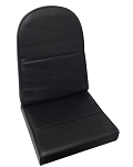Plain Black Single Seat