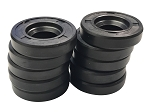 Set of 10 Generator Brush End Oil Seals For Harley-Davidson Twins & Sportsters (1958+)