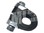 Chrome Mounting Clamp with Rubber Bushing