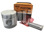Piston with Pin for Harley-Davidson 45s, WLA and Servi-Cars