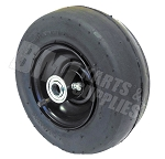 8x300-4 Smooth Tire, Tube and Rim ( 5/8