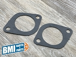 Set of Two Gaskets,  Intake To Head Gasket for Harley-Davidson