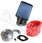 ---Out of Stock--- Adapter, Air Filter & Pre-Filter Complete Kit for 6.5 HP Clone / GX 160 or GX200 Engine
