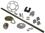 Drift Trike Axle Kit with Clutch (#40 Chain)