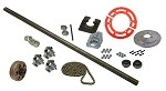 Drift Trike Axle Kit with Clutch (#35 Chain)
