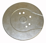 Dust Shield Zinc Plate - Harley 1952-79