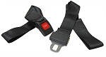 Seatbelt Assembly / 2-Point Lap Belt (Fabric Loop Ends)