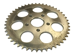 Rear Wheel Sprocket, 47T For Harley-Davidson 4 Speed Big Twins (1973+) & Sportsters (1979-81)