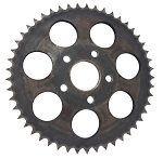 Rear Wheel Sprocket, 49T For Harley-Davidson 4 Speed Big Twins (1973+) & Sportsters (1979-81)