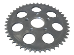 Rear Wheel Sprocket, 45T For Harley-Davidson Sportsters (1979-81) & 4 Speed Big Twins (1973+)