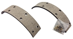 Rear Brake Linings and Rivets For Harley-Davidson Big Twin (1963-72)