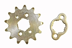 13T Sprocket & Retaining Plate for 90cc