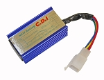 Racing AC CDI - 5 Pin (Blue) for 50cc-125cc GY6 Engine