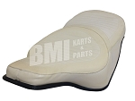Comfort Flex Seat (White) for Harley-Davidson