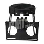 License Plate and Taillight Mounting Plate for Harley-Davidson Softails (1984-99)