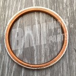 Copper Ring Exhaust Gasket for Harley-Davidson Big Twins (1966-85)