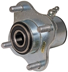 Galvanized Wheel Hub with (4) 5/16
