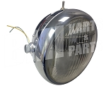 Chrome Motorcycle Headlight 6V with Switch