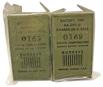 BA-399/U Battery for PRT-4 Military Transmitter (Set of 2)