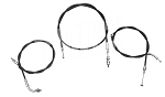 Honda CB750 High Bar Cable Kit (Throttle, Clutch, Brake)