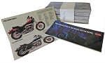 Vintage - 1983 Harley Davidson Motorcycle Brochure (Box of 100)