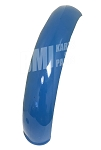 Blue Plastic Motorcycle Fender