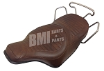 Comfort Flex Seat with Hand Rail (Brown) for Harley-Davidson