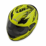 Zamp FS-8 Helmet - Green / Black Graphic