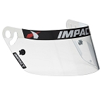 Impact Shield for Draft, Vapor or Charger Helmet
