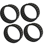Set of 4; Needle Caged Transmission Shaft Bearing for Harley-Davidson Big Twins (1984-2006)