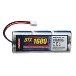 DuraTrax 1600mAh NiMH 7.2V 6 Cell Stick Battery Pack